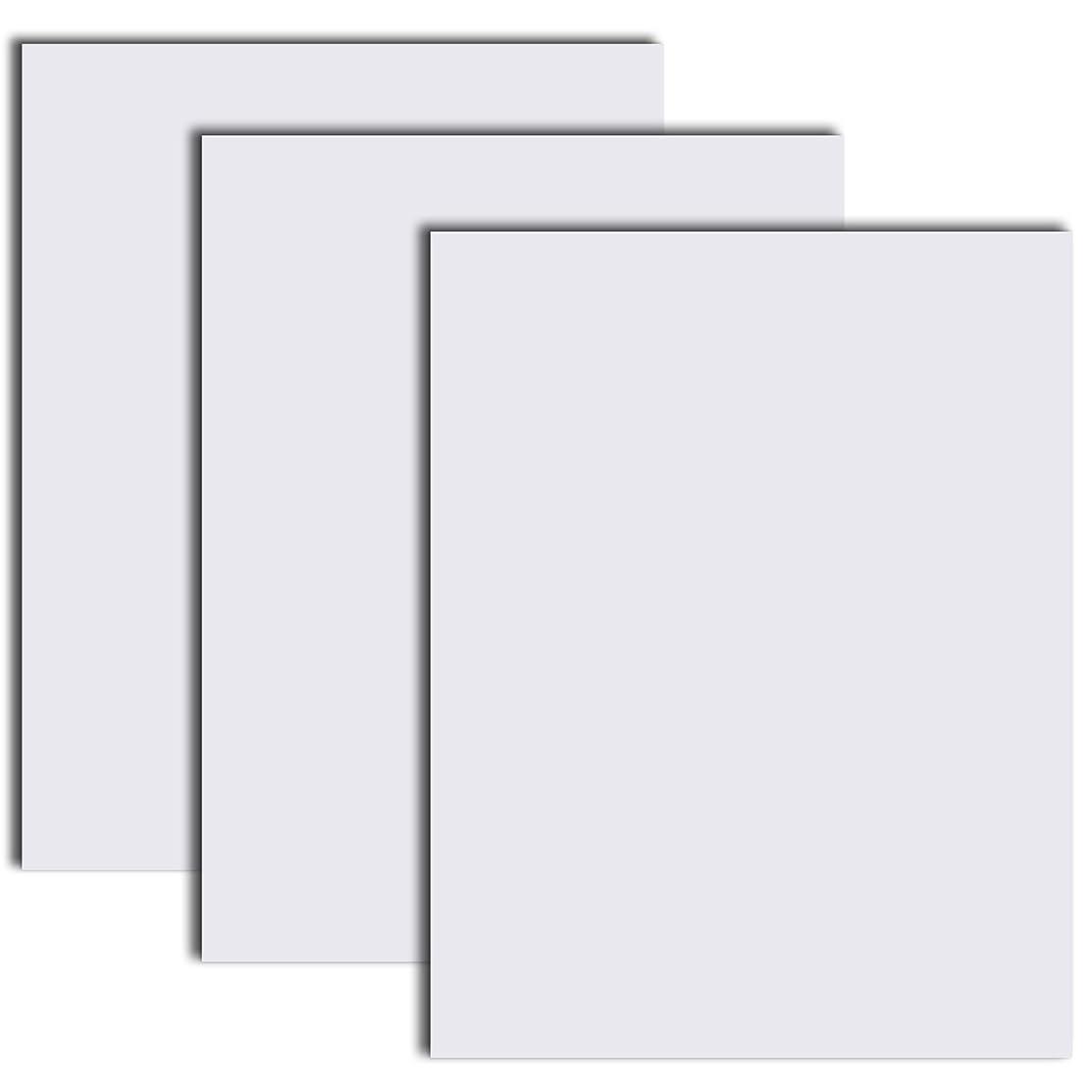 Siser EasyWeed Stretch Heat Transfer Vinyl HTV 3 Precut Sheets 12 x 15 (White)