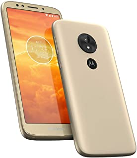 "Motorola Moto E5 Play 16GB XT1920 Dual SIM 5.3"" LTE Factory Unlocked Smartphone - International Version (Gold)"