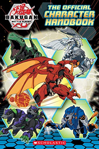 Bakugan Battle Planet: The Official Character Handbook (English Edition)