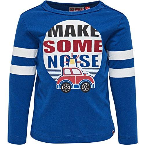 Lego Wear Duplo Boy Texas 705-Langarmshirt T-Shirt Manches Longues, Bleu (Dark Blue 570), 18 Mois Bébé garçon