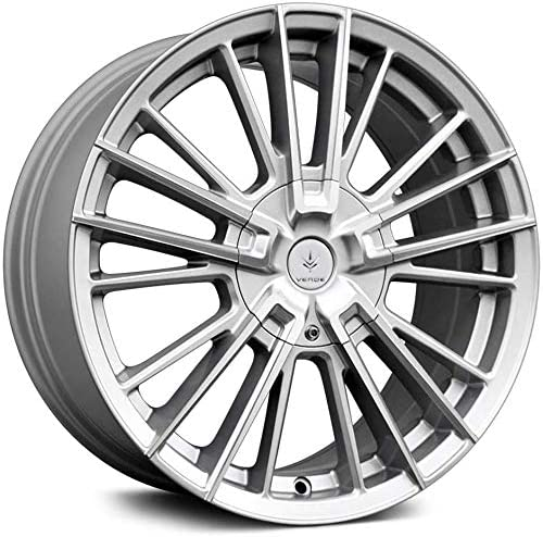 Verde Wheels V10 Influx Silver with Face Machined 7. x 17 Seasonal Wrap Introduction Cheap Wheel