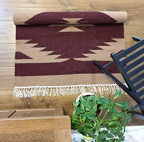 Wol & Jute Handgeweven Vloerbedekking Duurzaam/Tapijt Woonkamer, Oosters, Traditioneel, (Multi kleuren) Tapijt