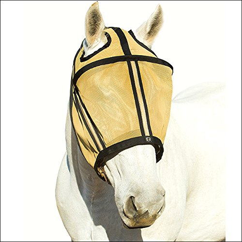 Gold Noble Outfitters Guardsman keine Ohr Fliegenmaske UV/UPF 25+ Schutz