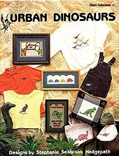 Pegasus Originals Urban Dinosaurs Counted Cross Stitch Charts