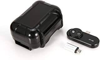 MXECO Multifunción Termómetro para teléfono Detección de Mano Teléfono móvil Infrarrojo Negro Cámara termográfica para Android YK-102 (Negro)