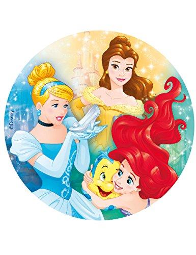 les colis noirs lcn Disque Azyme Princesses Disney 20 cm - Taille - Taille Unique - 307184