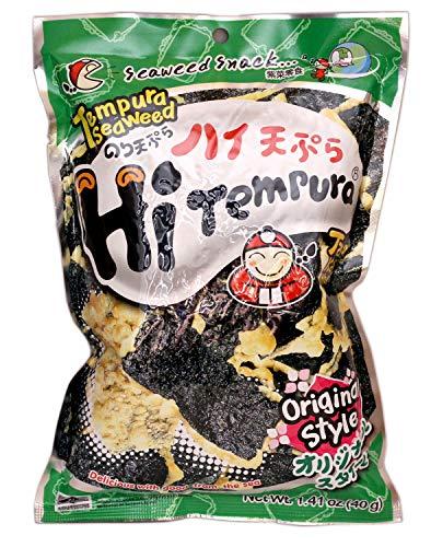 Hi Termpura (Tempura Seaweed Original) - 1.41oz (Pack of 6)