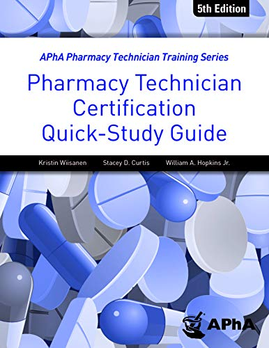 Compare Textbook Prices for Pharmacy Technician Certification Quick Study Guide 5th Edition ISBN 9781582123202 by Kristen Wiisanen,Kristen Wiisanen,Stacey Curtis