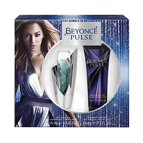Beyonce Pulse 2-Piece Gift Set with 0.5-Ounce Eau de Parfum and 2.5-Ounce Body Lotion, Total Retail Value $27.00