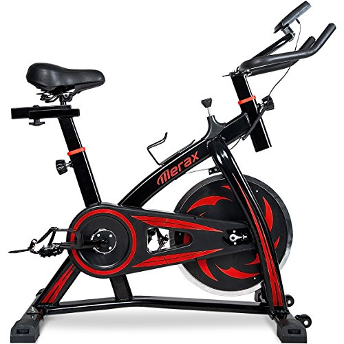 Merax Indoor Cycling Exercise Bike Cycle Trainer – Stationary Exercise Bicycle Fitness Equipment for Home Gym