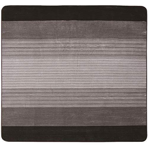 [山善] ホットカーペット カバーセット 2畳タイプ (6時間オートオフタイマー) (ダニ退治機能) (左右暖房面...