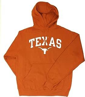 Texas Longhorns Hooded Sweatshirt Arch Orange
