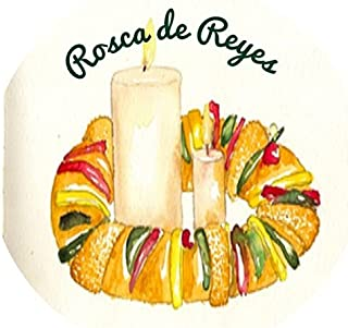 Rosca de Reyes - Edible Image Cupcake Toppers - Set of 12 Precut - 2