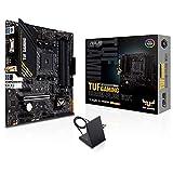 ASUS TUF Gaming A520M-PLUS WiFi - Placa Base de Gaming Micro-ATX AMD B550 Ryzen AM4, M.2, Wi-Fi 802.11ac, SATA 6 Gbps, USB 3.2 Gen. 1, SATA 6 Gbps y Conectores Aura direccionables de 2 Gen