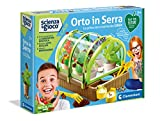 Clementoni- Science & Play Lab-L'Orto in Serra-Play for Future-Made in Italy-orto botanico-Gioco scientifico (Versione in Italiano), 7 Anni+, 19175