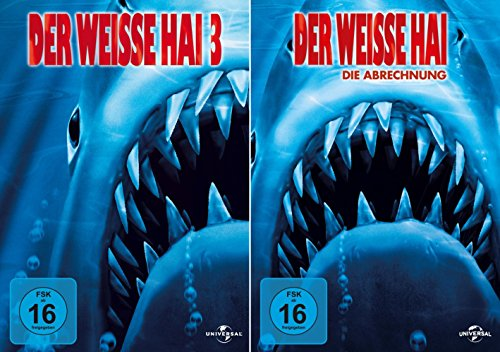 Der weisse Hai 3 + 4 Collection [2er DVD-Set]