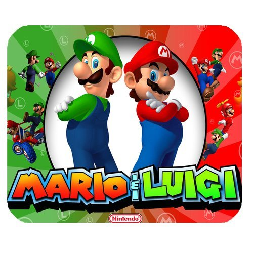 Custom Super Mario Bros Mouse Pad Gaming Rectangle Mousepad MD2360