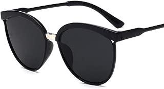 Sunglasses for Women Men Vintage Cat Ear Lens Metal Frame Aviator Sunglasses Eyewear, 2.20 Inch Lens Width, 6 Colors