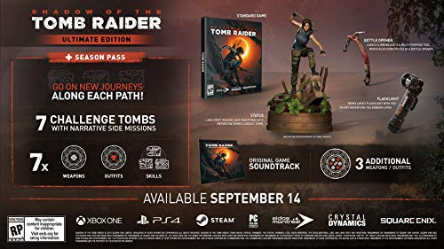 Shadow of the Tomb Raider - Ultimate Collector's Edition - REABASTECIMIENTO [PS4]