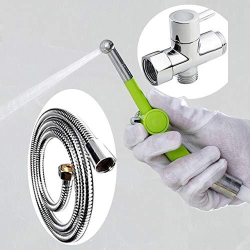 Handsprüher Ducha Higienica Bidet Sprayer Douche Handtoilette Bidet Dusche Tragbare Bidet Hygienische Dusche Bidet Klistier Dusche, A10