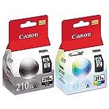 Canon PIXMA MX420 (PG210XL/CL211XL) Extra High Yield Ink Cartridge Set