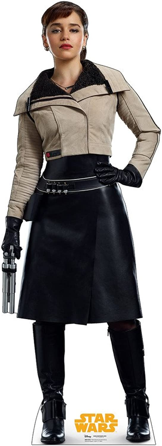 Advanced Graphics Qi'Ra Life Size Cardboard Cutout Standup - Solo  A Star Wars Story (2018 Film)