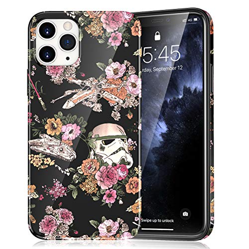 Compatible with iPhone 12 Pro Case (2020) Thin TPU iPhone 12 Cover, Lightweight Soft Protective Case for iPhone 12 and iPhone 12 Pro (6.1 Inch) - Star Wars