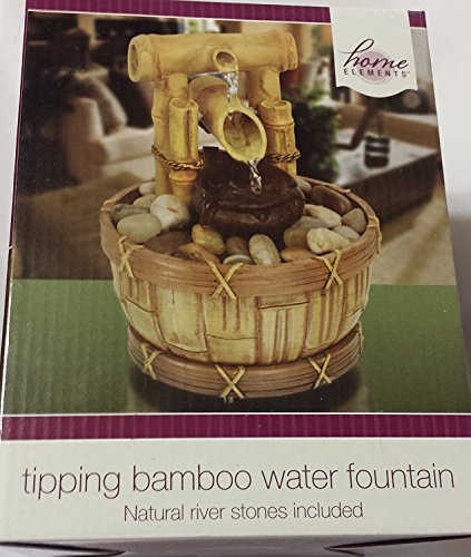 Home Elements - Tipping Bamboo Water Fountain