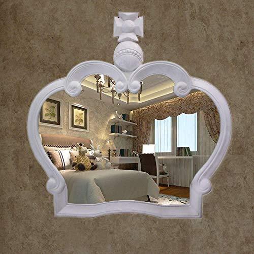 YBGW Wandspiegel Deko Groß Spiegel Badezimmerspiegel Spiegel Im Europäischen Stil Großhandel Schönheit Kosmetikspiegel Wandspiegel Badspiegel