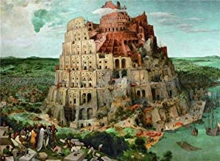 'Pieter Bruegel The Elder,Tower Of Babel,1563' Oil Painting, 10x14 Inch / 25x35 Cm ,printed On High Quality Polyster Canvas ,this High Resolution Art Decorative Canvas Prints Is Perfectly Suitalbe For Game Room Decor And Home Artwork And Gifts
