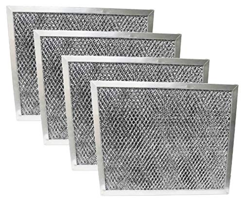 Nispira Replacement Range Hood Grease Filter with Charcoal Compatible with Broan S97007696 6105C
