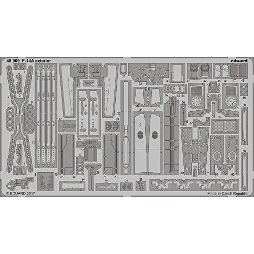 エデュアルド 1/48 F-14A外装 タミヤ用 プラモデル用パーツ EDU48909