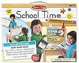 Melissa & Doug - School Time Juego de aula escolar de juguete - Haz de profesor o de alumno