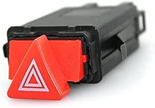 Iztoss 4B0941509D 4B0941509K 4B0941509C New Hazard Warning Light Emergency Flasher Switch Button for 98-05 Audi A6 Allroad Quattro S6 RS6