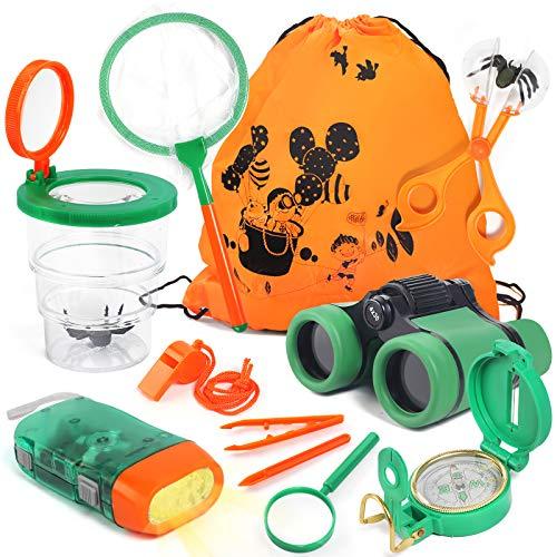 Lehoo Castle Kit de Explorador para Niños, Set de Juguetes al Aire...