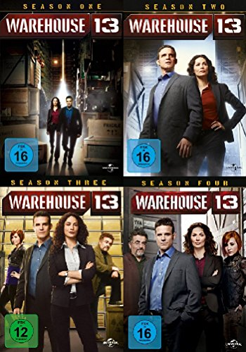 Seasons 1-4 (14 DVDs)