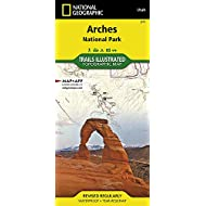 Arches National Park (National Geographic Trails Illustrated Map (211))