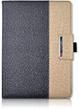iPad Pro 9.7 Case,Thankscase Rotating Case Cover for iPad Pro 9.7 with Wallet Pocket with Hand Strap with Auto Sleep/Wake for iPad Pro 9.7 (Black Gold)