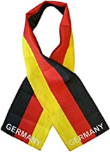 Germany German Country Lightweight Flag Printed Knitted Style Scarf 8