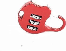 Anchang Digit Lock Combinatie Zinklegering Beveiliging Bagage Koffer,Rood