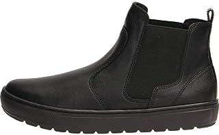 Geox Women's Breeda 26 Slip-on Ankle Warm Lined Sneaker Boot, Blk, black oxford, 39 M EU (9 US)