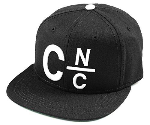 Crooks & Castles - - CnC Snapback Hat pour hommes, O/S, Black