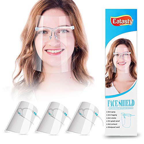 Unisex ansiktsskärm_skyddande visir skydd vindtät transparent, oljeruma, spottande anti-dimlins för dagliga aktiviteter och arbete (3)