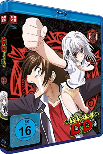Highschool DxD - Staffel 1 - Vol.4 - [Blu-ray]