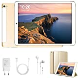 4G Tablet 10 Pollici Android 9.0 Tablet Google Certificazione GMS Quad-Core 32/128GB ROM 3GB RAM...