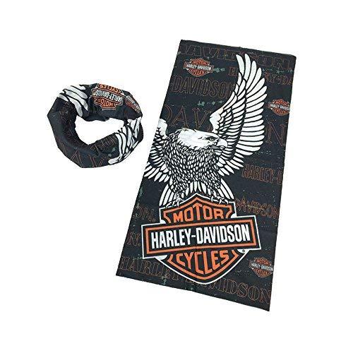 DODO®-Harley Davidson Biker Fahrer Multi Schal Balaclava Tube Snood Maske Nackenwärmer Bandana