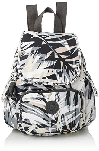 Kipling Damen City Pack Mini Rucksack, Mehrfarbig (Urban Palm), 27x29x14 Centimeters