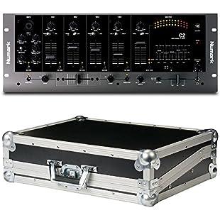 Numark C2 4 Channel DJ Mixer (Bundle):Hitspoker