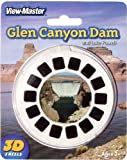 Glen Canyon Dam and Lake Powell Arizona View-Master 3 Reel Set by View Master -