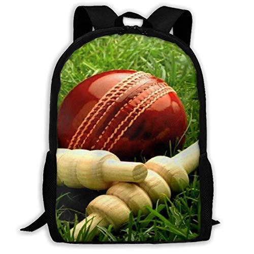 Rucksack für Hochschule,Laptop-Rucksäcke Adult Backpack Cricket Bat Daybag Backpacks Shoulder Bag College Travel Outdoor Camping Bags